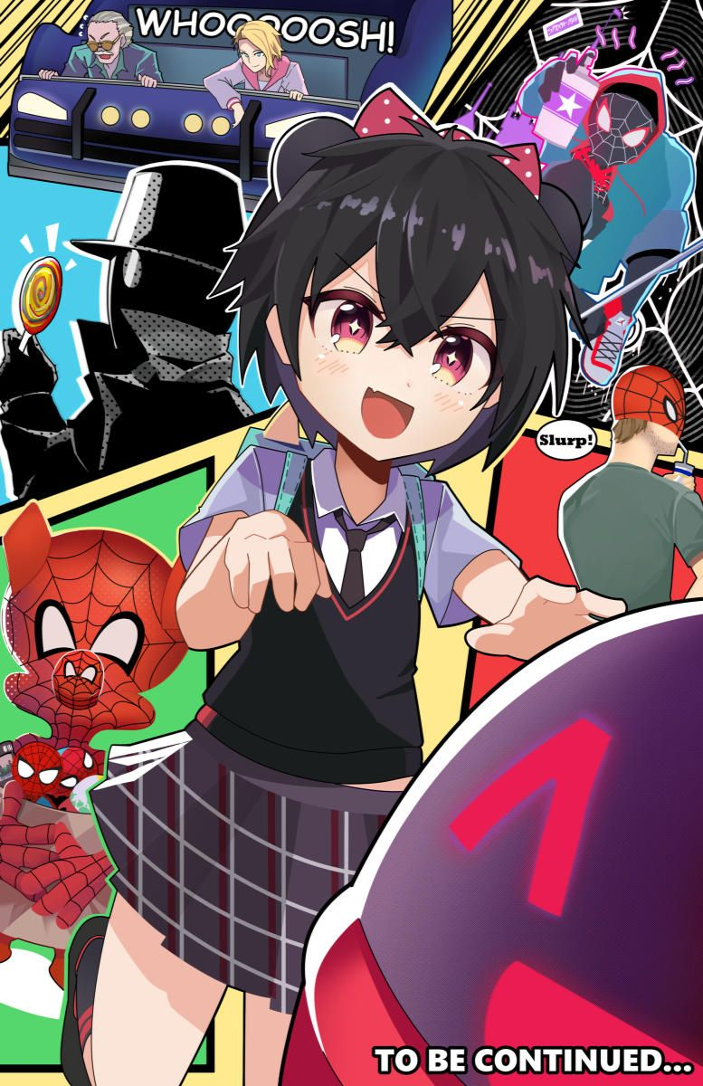 The Spooderverse Spiderman Art Anime Characters Parker Spiderman