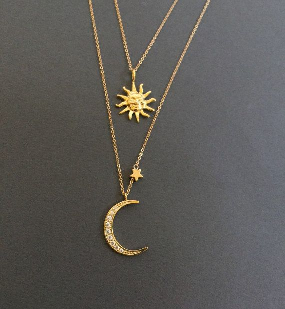 Celestial Jewelry Gold Moon Choker Silver Moon Choker Celestial Moon Choker Adjustable Choker