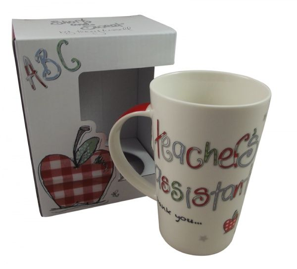 Tracey russel teacher 39 s assistant mug teacher for Gift ideas for assistants
