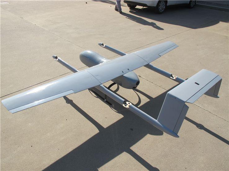 New Mugin 2930mm H-Tail VTOL UAV Platform Frame Kit | DRONES