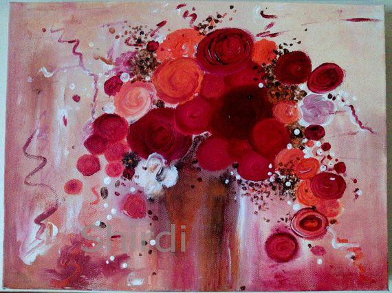 Acrylbilder Stillleben Und Blumen In Acryl Galerie
