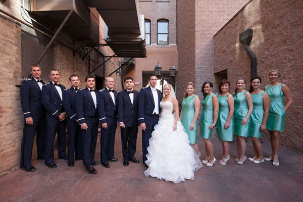 Beautiful Photos From Military Weddings