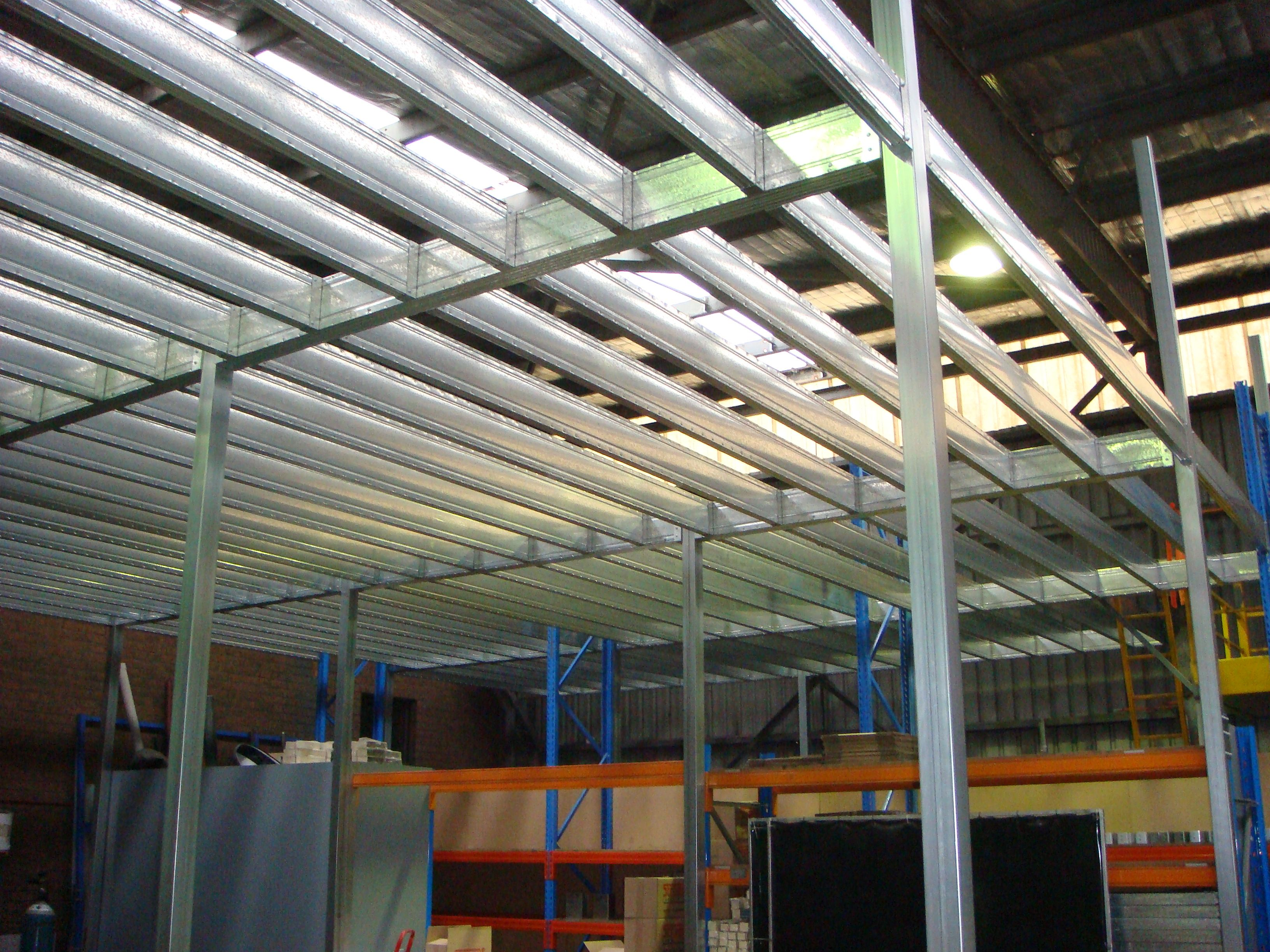 boxspan steel mezzanine floor frame from our factory in mittagong nsw this is where