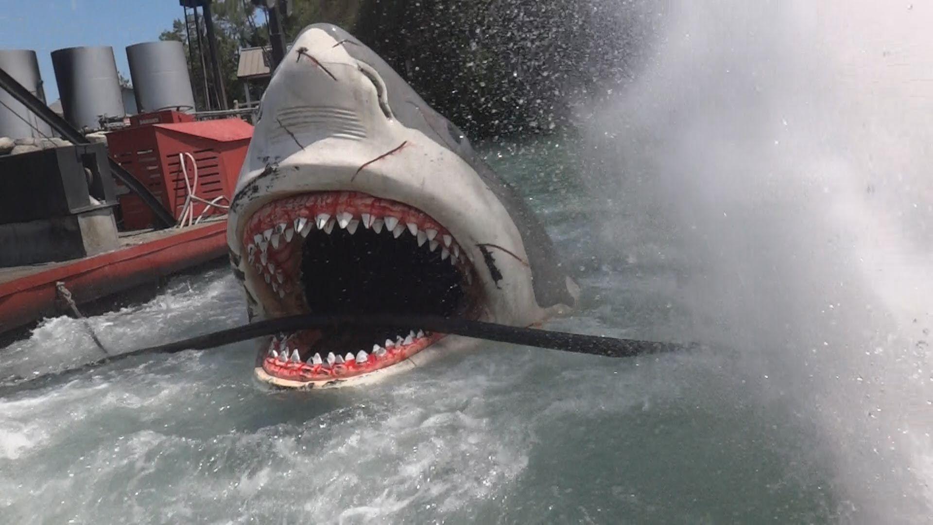 Jaws ride Universal