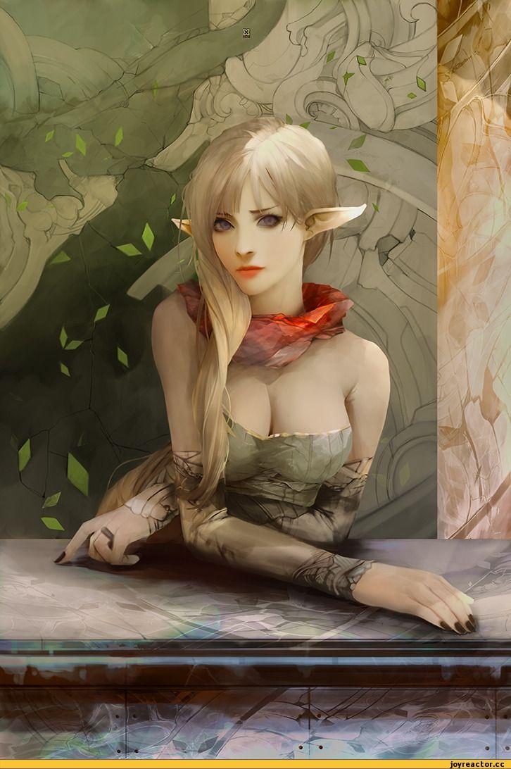 Картинки по запросу эльфийка арт