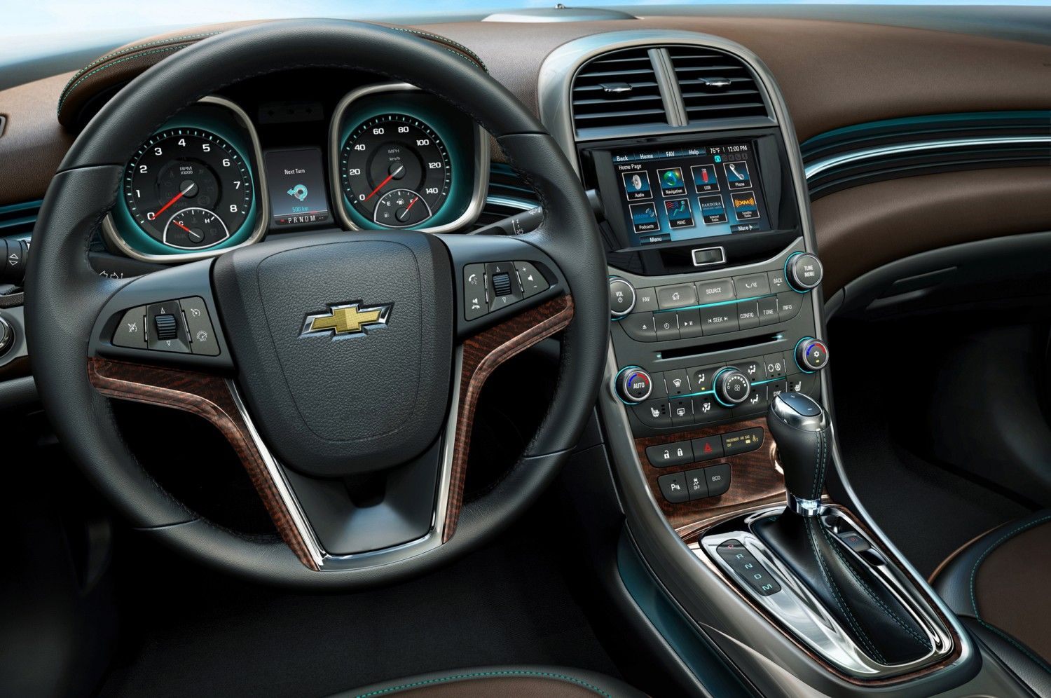 Great Looking Cockpit 2015 Chevy Malibu