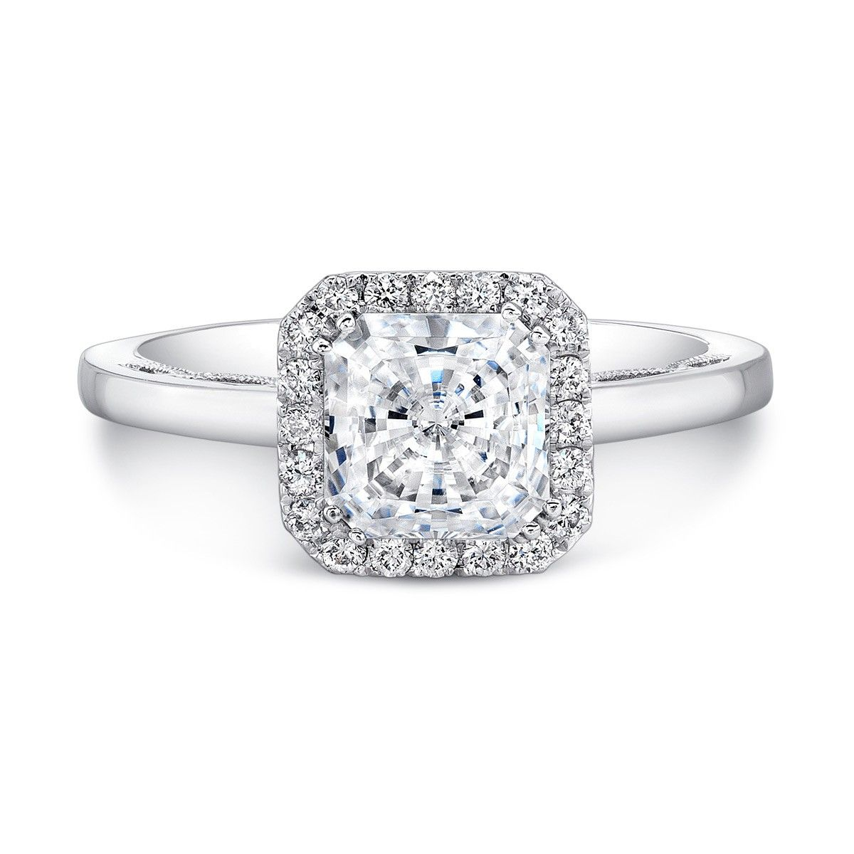 Forevermark Forevermark Princess Halo Engagement Ring My Day came