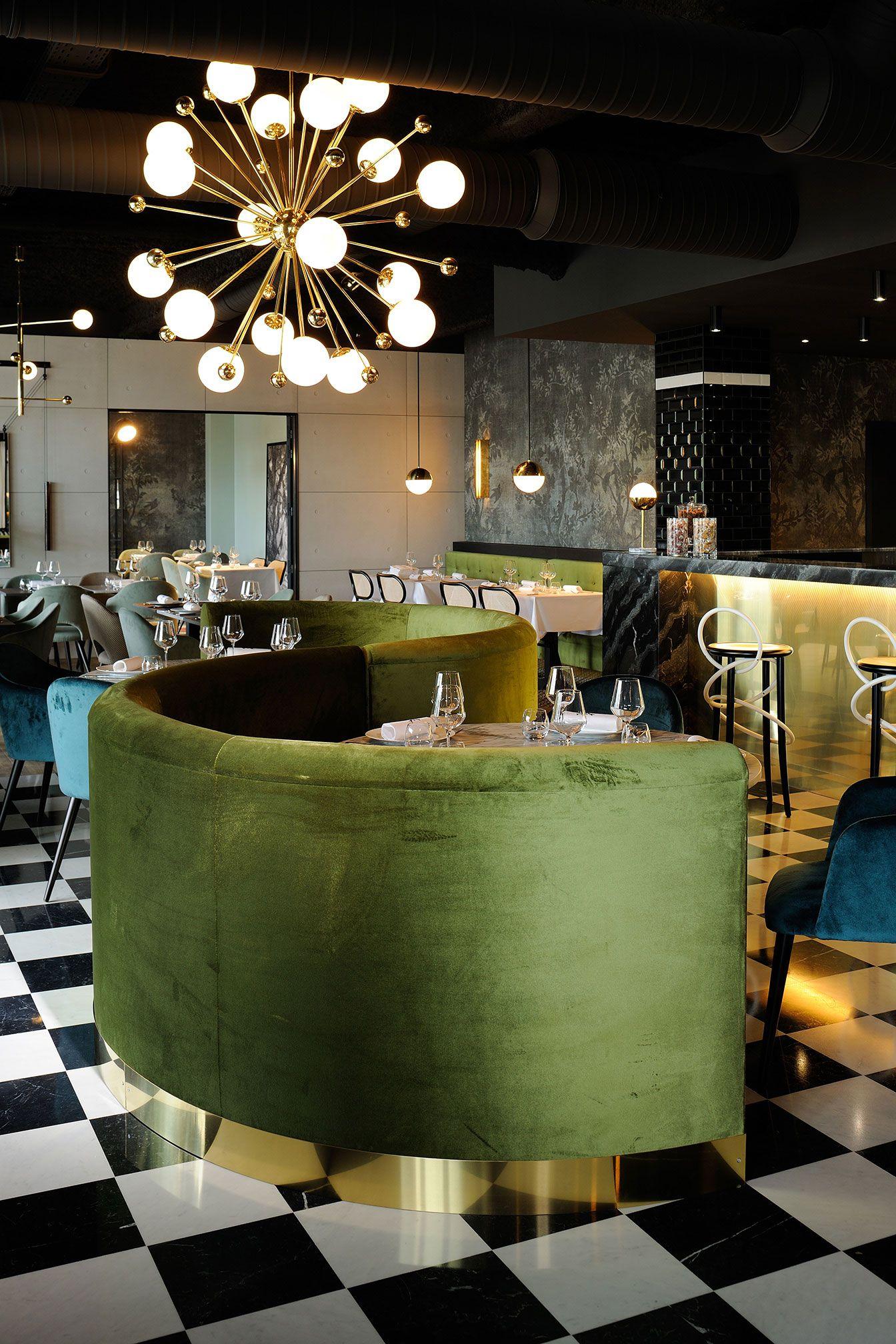 La foret noire restaurant in chaponost france by claude for Innendekoration restaurant