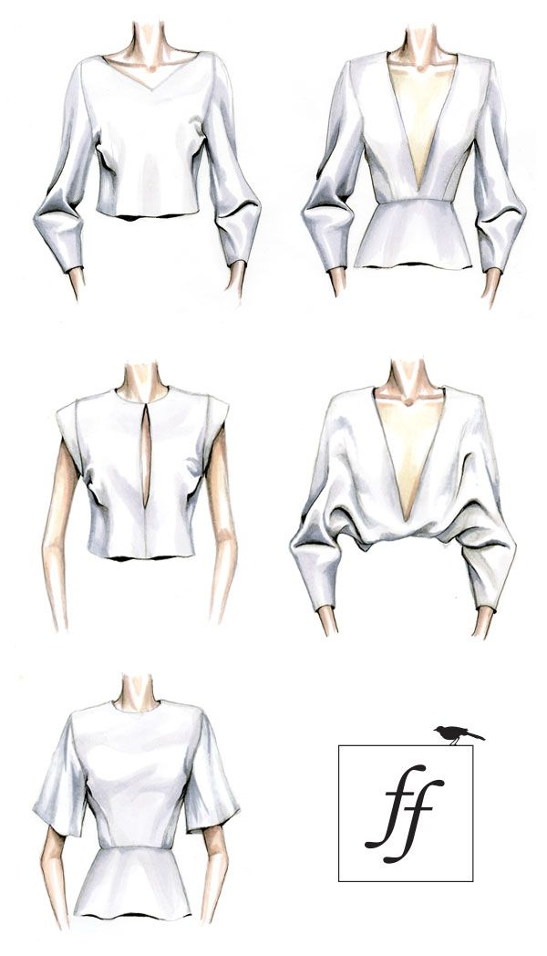 illustration learn more about the creation of a garment for