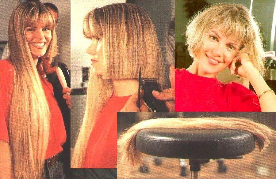 Beautiful Transformation Bob Hairs Pinterest Lange Haare
