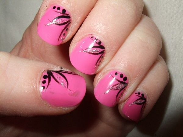 Simple Nail Art Designs Step By Step At Home For Short Nails Short