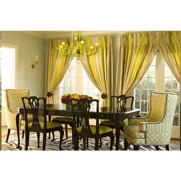 dining rooms - Kelly Wearstler Imperial Trellis Citrine ...