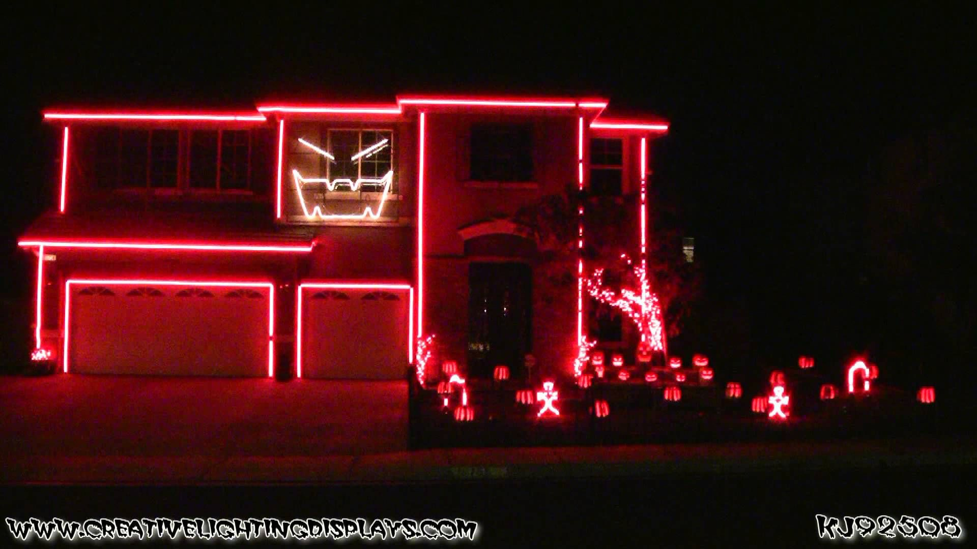 halloween light show 2012 - gangnam style | let there be light