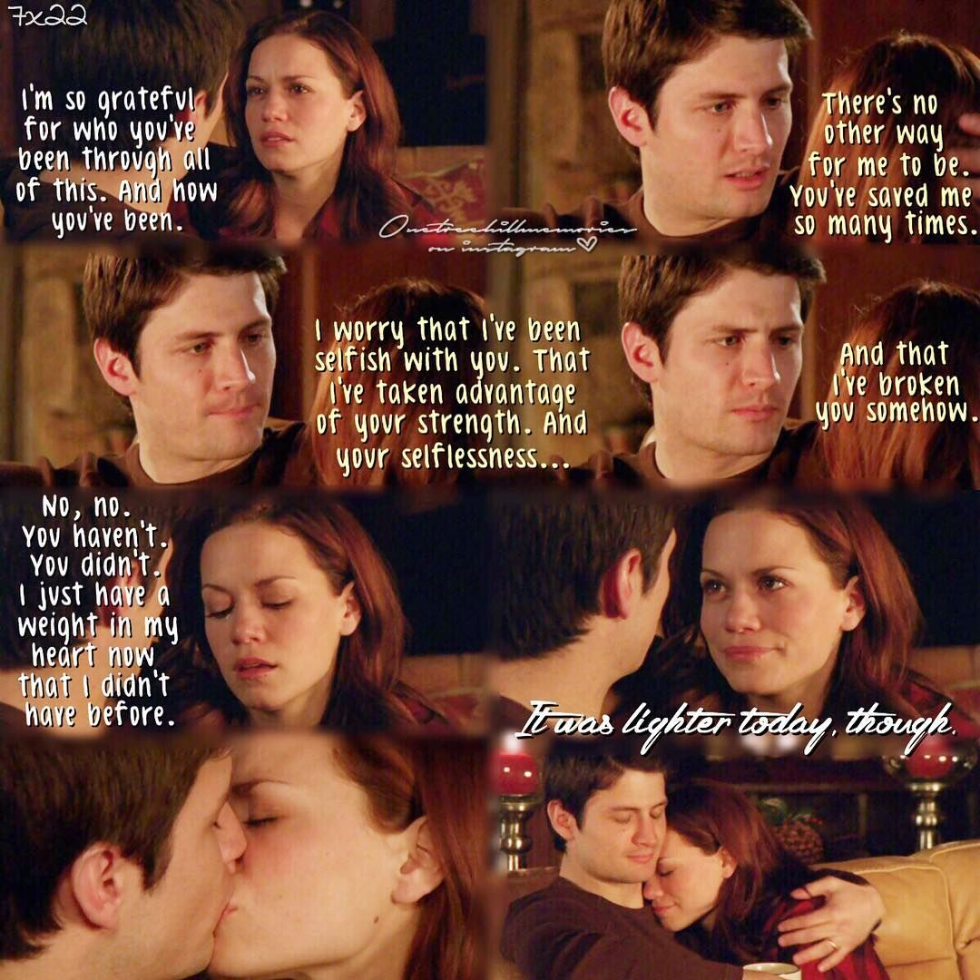 One Tree Hill Quotes About Friendship One Tree Hillnathan And Haley  « One Tree Hill »  Pinterest