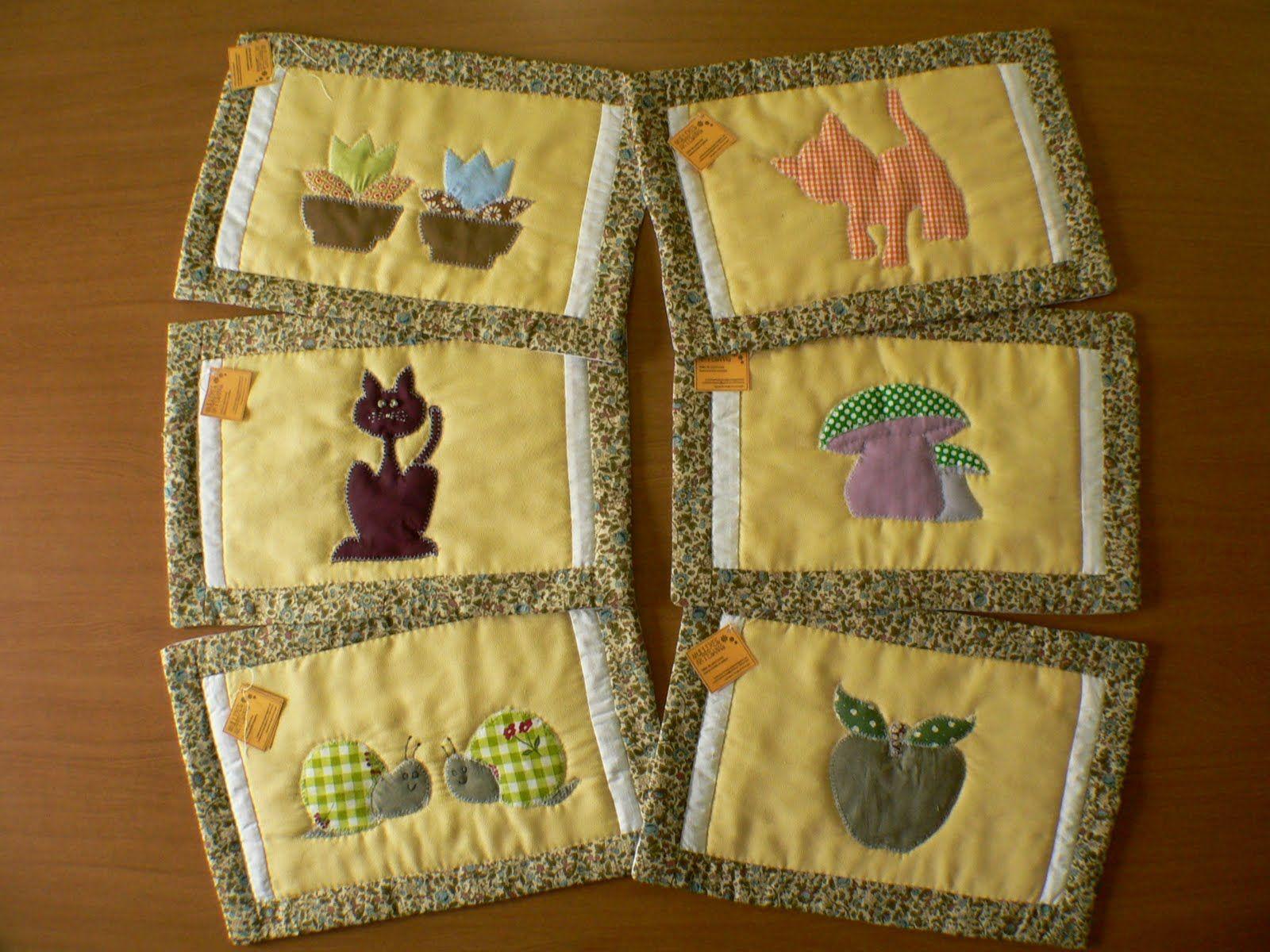Manteles de cocina y complementos en tela buscar con for Manteles individuales de tela