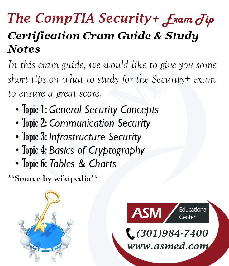 Comptia Security Training Exam Tip Certification Cram Guide