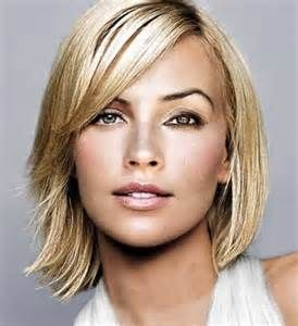 shoulder length hair styles for women over 40  bing