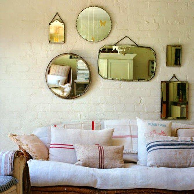 Espejos Decoración de paredes Pinterest Lleno, Espejo y Ideas para - decoracion de paredes