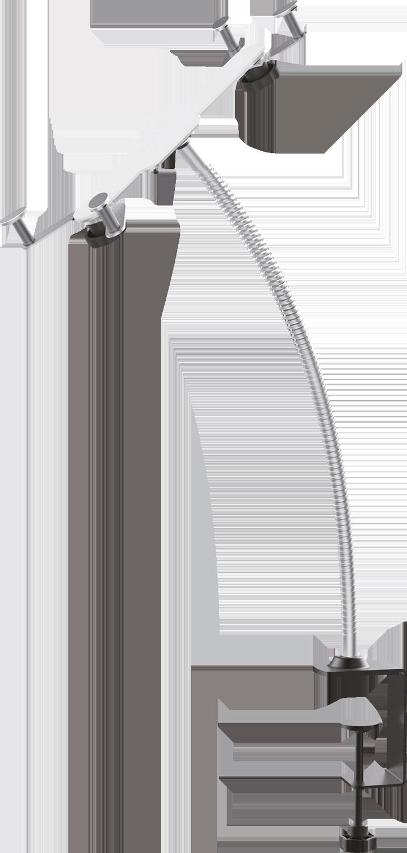 Praktisk hållare med flexibel arm som gör att du kan montera din surfplatta  på t. ddb0a987124f0