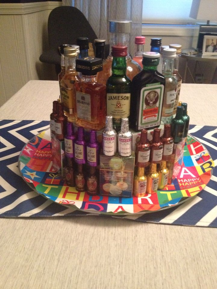 """""""Alcohol cake"""" by Lauren :-)"""