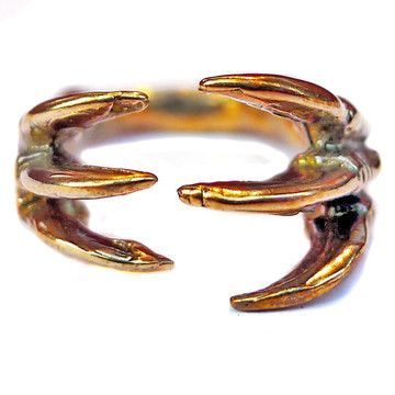 Claw Three Finger Ring