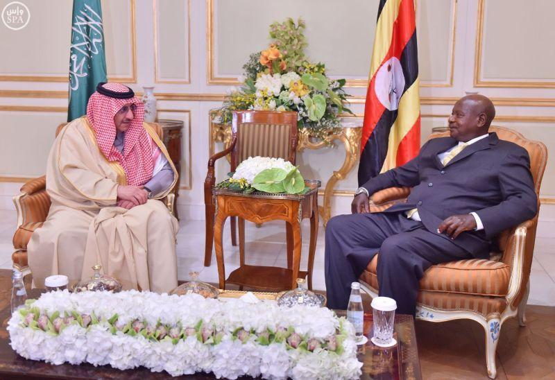 سمو ولي العهد يبحث العلاقات الثنائية مع رئيس جمهورية أوغندا - http://www.watny1.com/401971.html