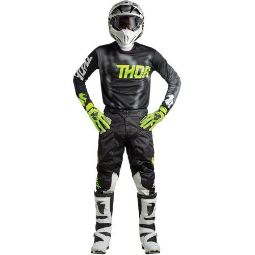 Thor Mx Pulse Air Radiate Black In 2020 Jersey Pants Gloves Winter Motorcycle Jacket
