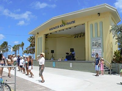Ampitheatre Hollywood Beach Florida-live music. Its the best. A must see.