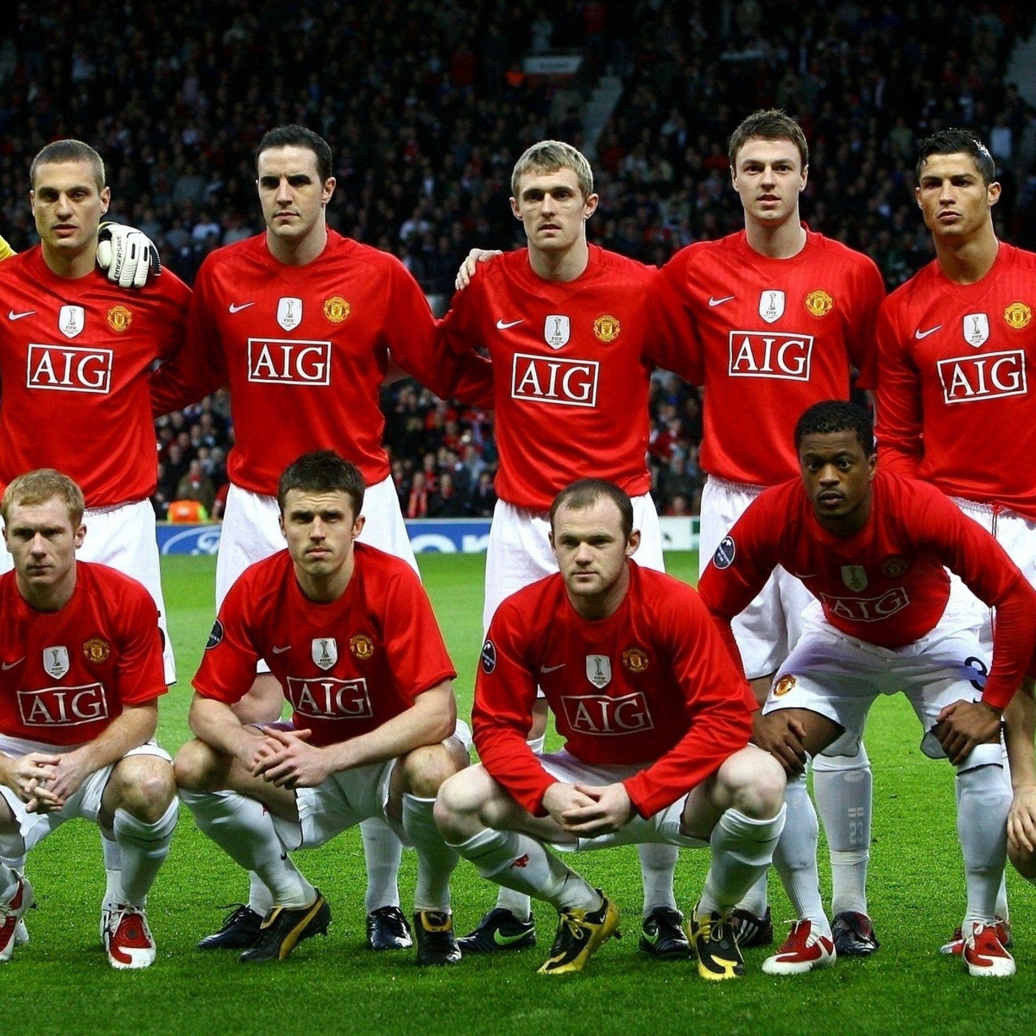 Manchester United Fc Cristiano Ronaldo Van Der Sar