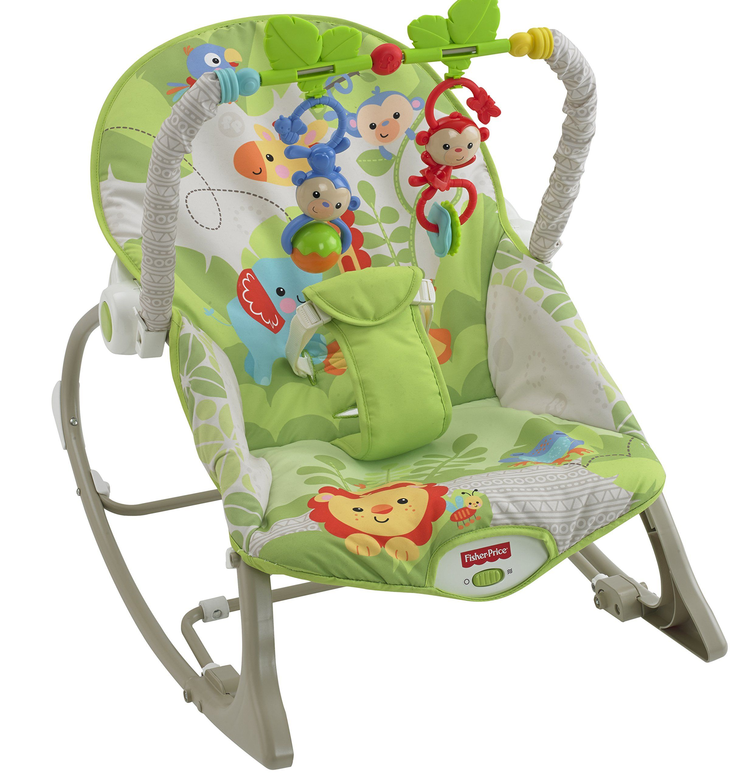 Amazing Fisher Price Rainforest Infant To Toddler Rocker Amazon Co Caraccident5 Cool Chair Designs And Ideas Caraccident5Info