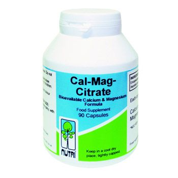 Buy Nutri Cal-Mag-Citrate Formula with FREE UK Shipping - Bioavailable calcium & magnesium formula contains a 1:1 ratio of highly bioavailable calci www.tonicvitamins.com