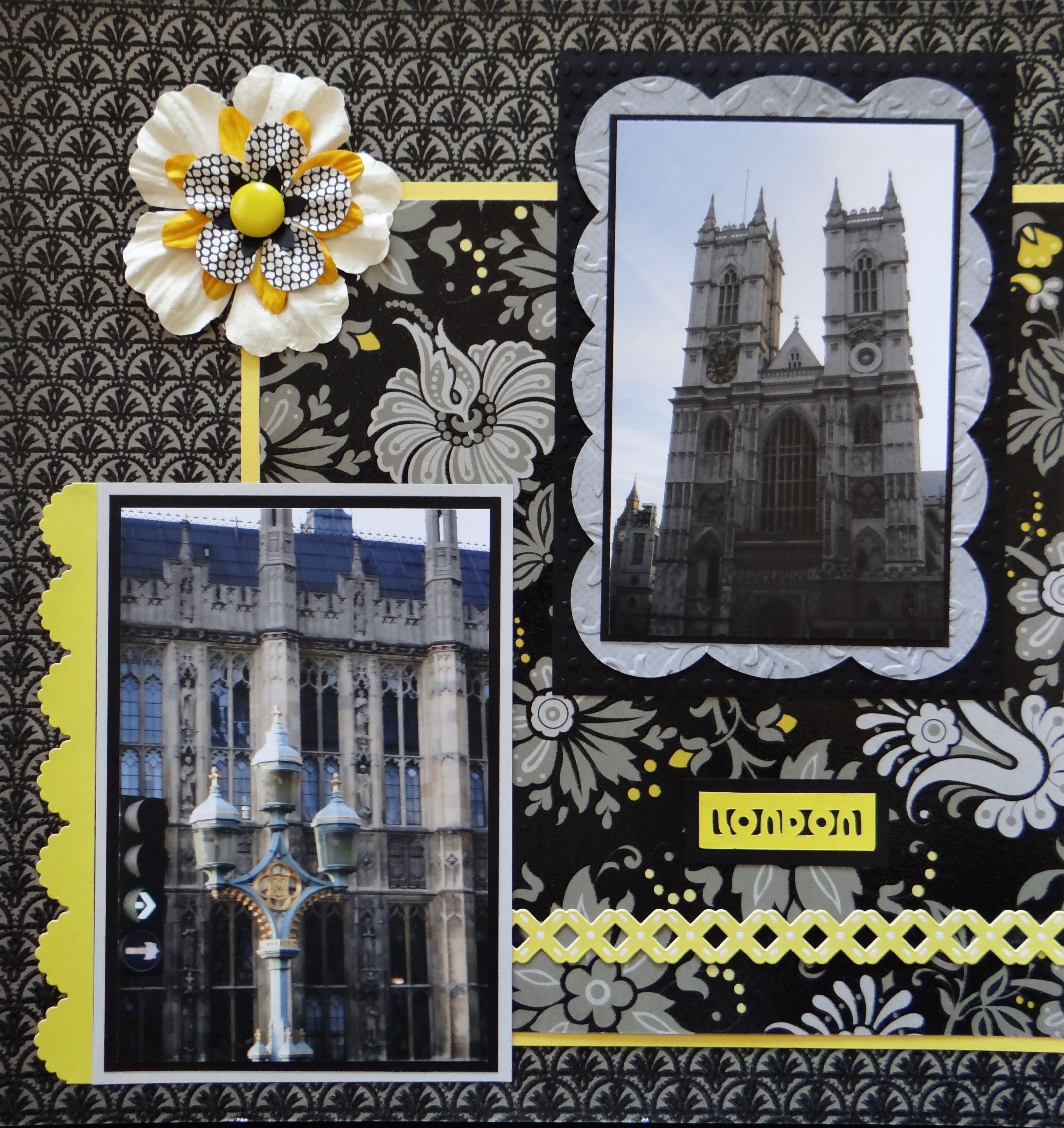Europe scrapbook ideas - In This Travel Scrapbook Album Of London You Will Find Scrapbook Ideas For Pages Of Big Ben Churches Parliament Buildings The London Eye And The Tube