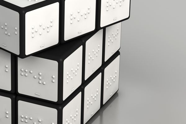 Rubics Cube for blind persons