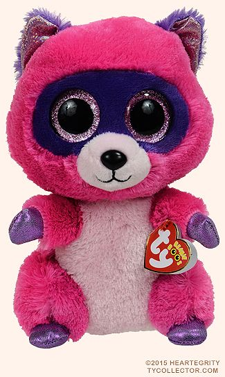 Roxie (medium) - raccoon - Ty Beanie Boos  0101761a438