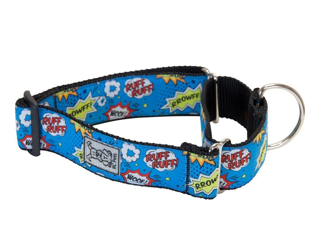 RC Pet Products 1 1/2 Inch All Webbing Martingale Dog