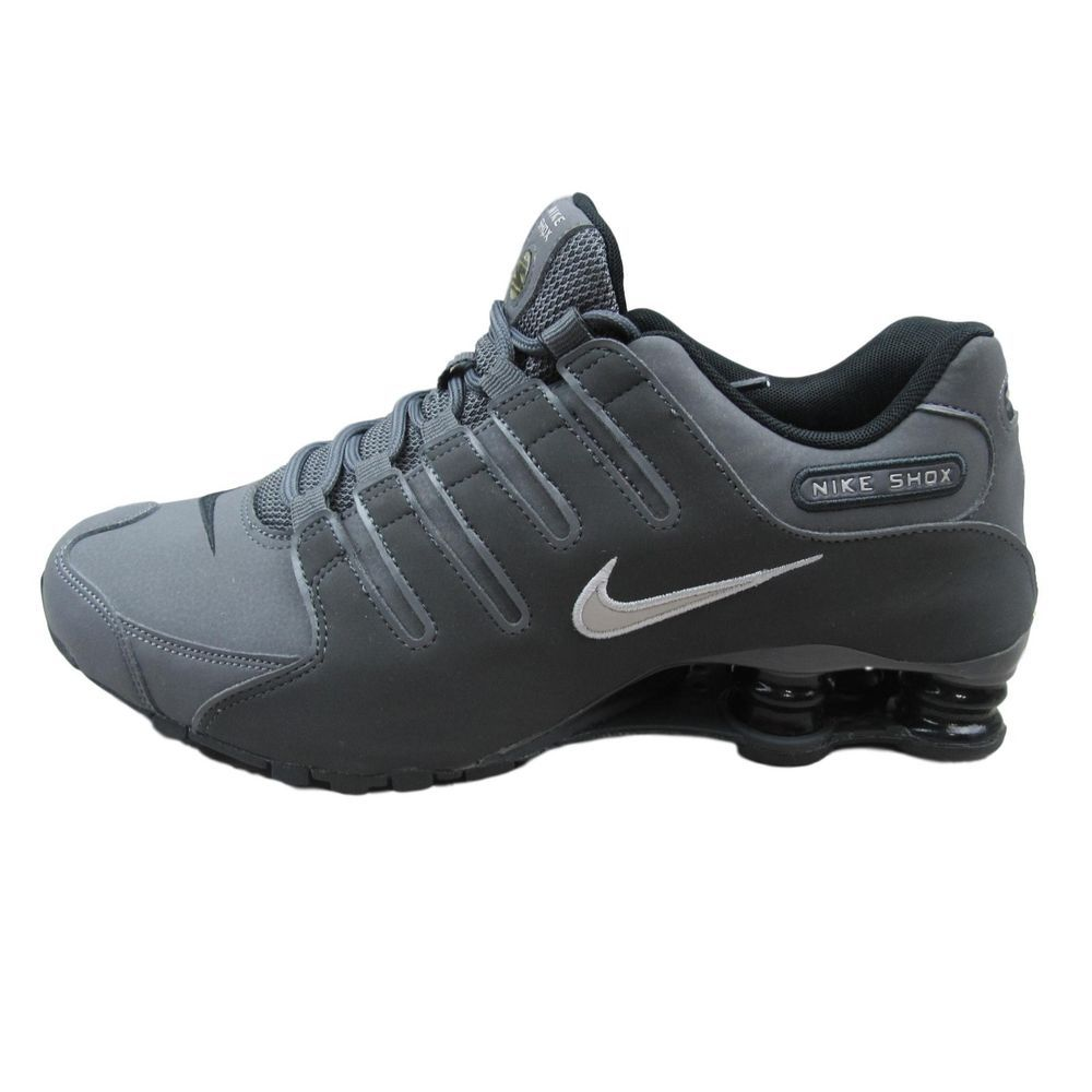 size 40 fbc7d a2826 Nike Shox NZ Running Shoes Trainers Size 7.5 Mens Grey Black 378341 059 New   Nike  RunningShoes