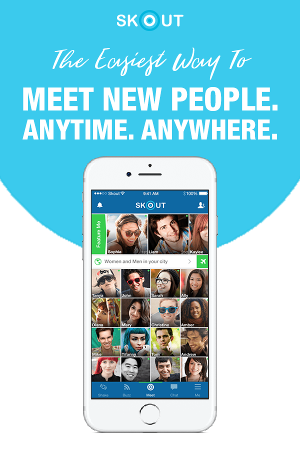 Get the world's largest app for meeting new people. Skout gives you the ability to connect with people no matter where you are. Download and join the Skout party now!