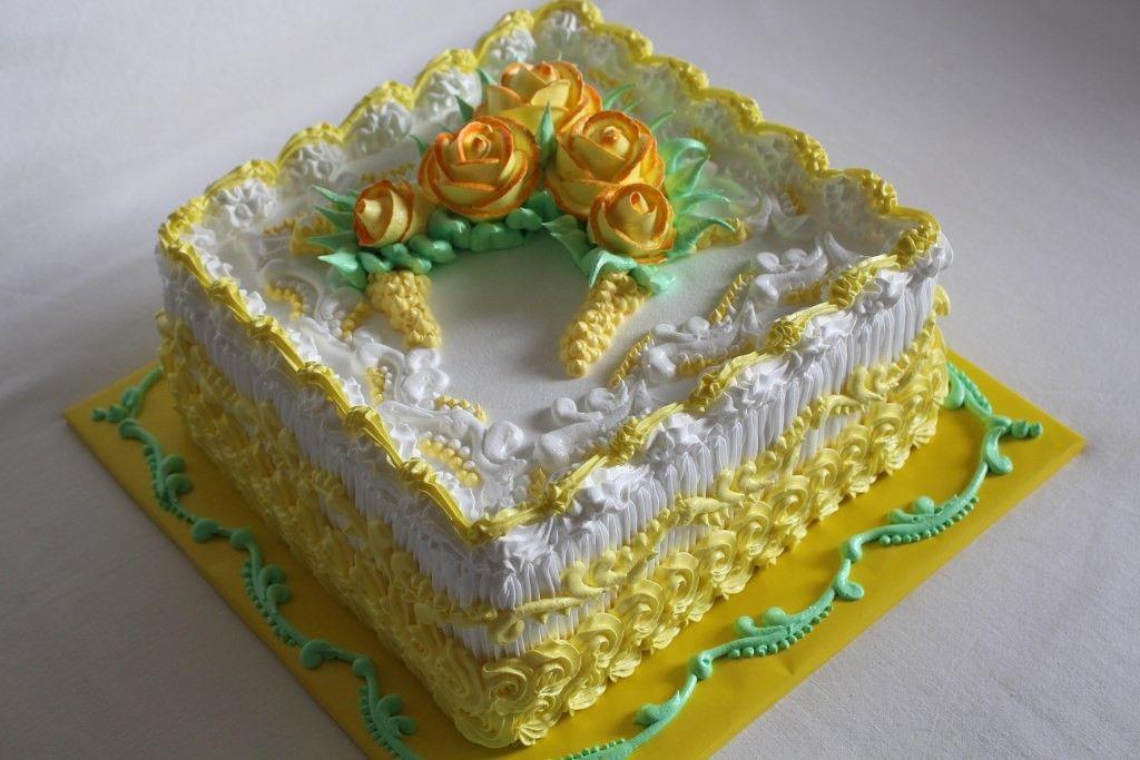 фото тортов квадратный на день рождения