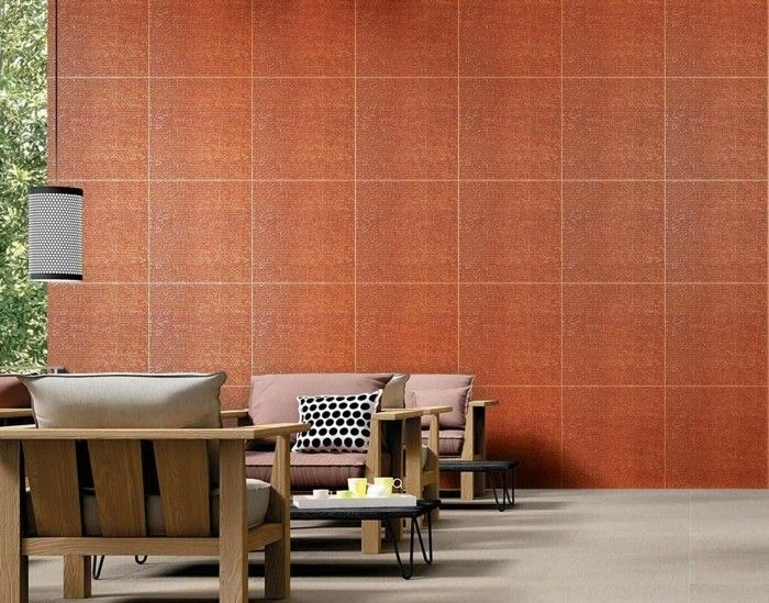 Wandfliesen wohnzimmer als eine wundervolle alternative f r die wandgestaltung interieur - Wandfliesen alternative ...