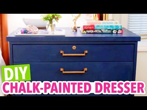 DIY Chalk Paint & How to Paint and Distress Furniture! // EASY ...