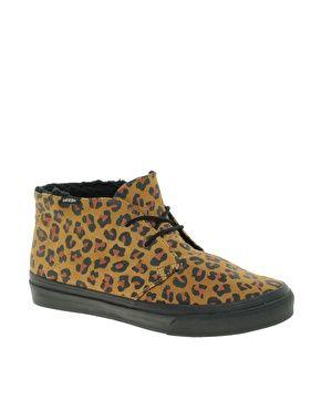 c0253768ca Enlarge Vans Chukka Slim Leopard Print Boots