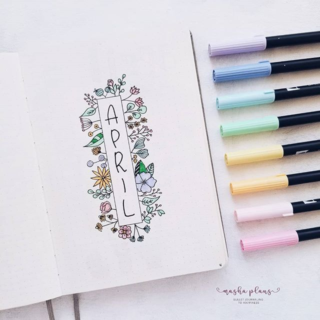 Learn To Doodle: Beginner's Guide To Bullet Journal Doodles