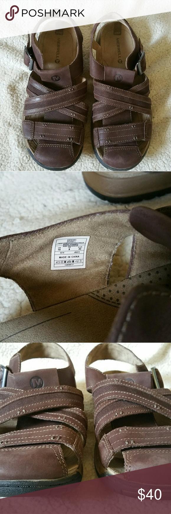 d40a6105724a Little to no wear on the bottoms. Merrell Shoes Sandals   Flip-Flops. Merrell  J62213 Traveler Fisher Sandals Men s 10 ...