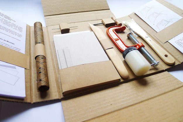 Kit de encuadernacion artesanal - (Google 검색)Bookbinding craft kit (Google 검색)