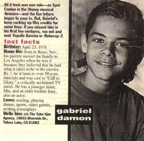 gabriel damon imdb
