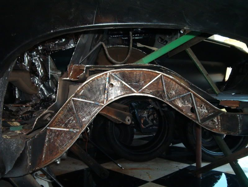 1970 chevelle protouring 18x11 in the rear section the frame ...
