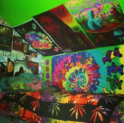 Gallery For > Stoner Bedroom Tumblr Hippy room, Hippie