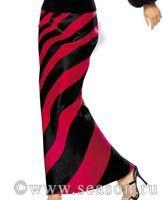 юбка с разноцветными клиньями