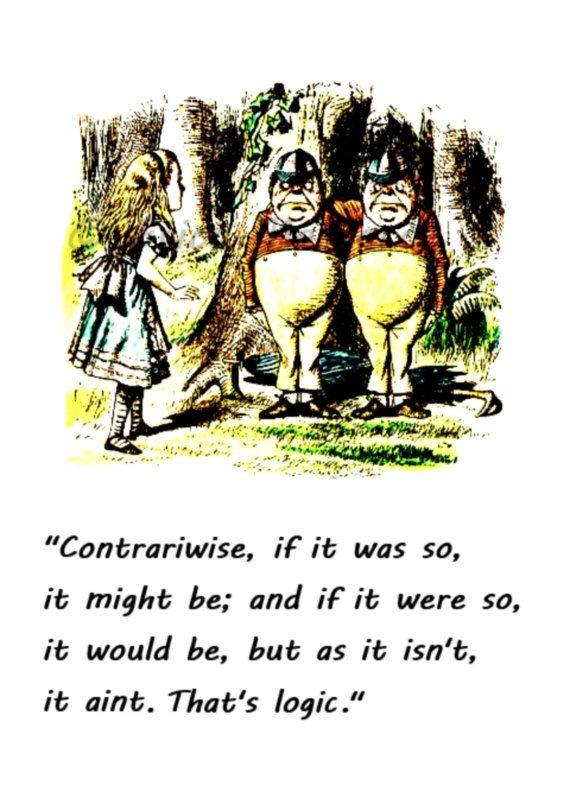 Alice in Wonderland Quote Print, Wonderland Nursery Decor ...