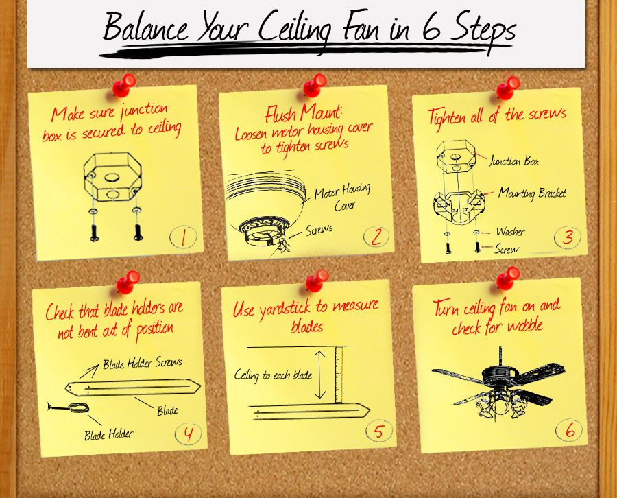 Balance Your Ceiling Fan And Improve It S Performance In 6 Easy Steps Delmarfans